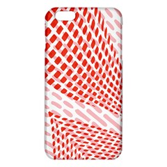 Waves Wave Learning Connection Polka Red Pink Chevron Iphone 6 Plus/6s Plus Tpu Case by Mariart
