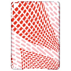 Waves Wave Learning Connection Polka Red Pink Chevron Apple Ipad Pro 9 7   Hardshell Case by Mariart
