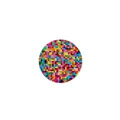 Mosaic Pattern 2 1  Mini Buttons by tarastyle