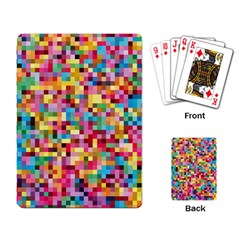 Mosaic Pattern 2 Playing Card by tarastyle