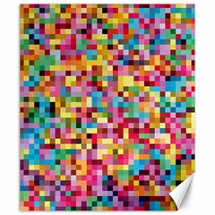 Mosaic Pattern 2 Canvas 20  X 24   by tarastyle