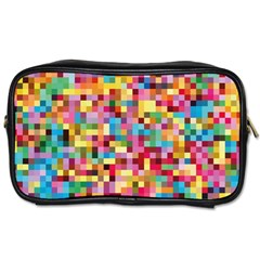 Mosaic Pattern 2 Toiletries Bags 2 Side by tarastyle