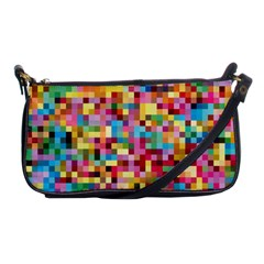 Mosaic Pattern 2 Shoulder Clutch Bags by tarastyle
