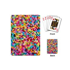 Mosaic Pattern 2 Playing Cards (mini)  by tarastyle