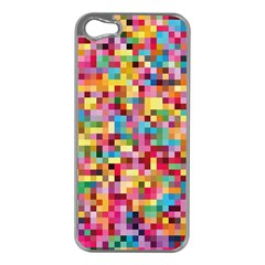 Mosaic Pattern 2 Apple Iphone 5 Case (silver) by tarastyle