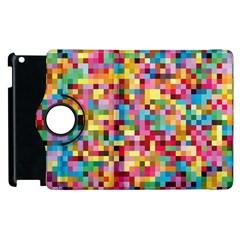 Mosaic Pattern 2 Apple Ipad 3/4 Flip 360 Case by tarastyle