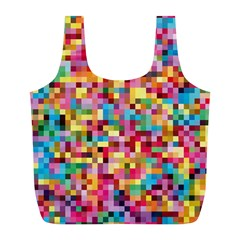 Mosaic Pattern 2 Full Print Recycle Bags (l)  by tarastyle