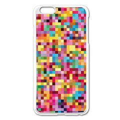 Mosaic Pattern 2 Apple Iphone 6 Plus/6s Plus Enamel White Case by tarastyle