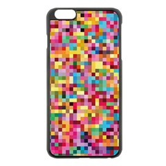 Mosaic Pattern 2 Apple Iphone 6 Plus/6s Plus Black Enamel Case by tarastyle