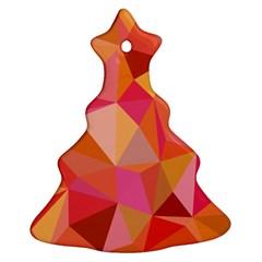 Mosaic Pattern 3 Ornament (christmas Tree)  by tarastyle