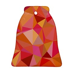 Mosaic Pattern 3 Bell Ornament (two Sides) by tarastyle