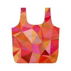 Mosaic Pattern 3 Full Print Recycle Bags (m)  by tarastyle