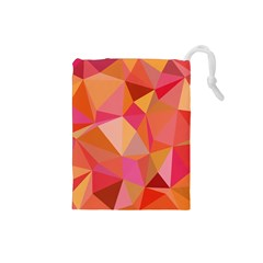 Mosaic Pattern 3 Drawstring Pouches (small)  by tarastyle