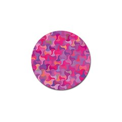 Mosaic Pattern 4 Golf Ball Marker by tarastyle