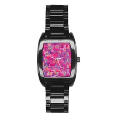 Mosaic Pattern 4 Stainless Steel Barrel Watch by tarastyle