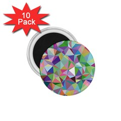Mosaic Pattern 5 1 75  Magnets (10 Pack)  by tarastyle