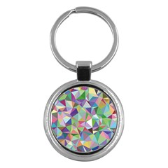 Mosaic Pattern 5 Key Chains (round)  by tarastyle