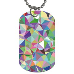 Mosaic Pattern 5 Dog Tag (two Sides) by tarastyle