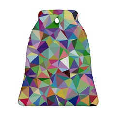 Mosaic Pattern 5 Bell Ornament (two Sides) by tarastyle