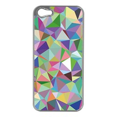 Mosaic Pattern 5 Apple Iphone 5 Case (silver) by tarastyle