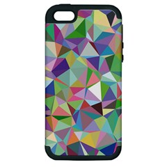 Mosaic Pattern 5 Apple Iphone 5 Hardshell Case (pc+silicone) by tarastyle