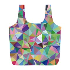 Mosaic Pattern 5 Full Print Recycle Bags (l)  by tarastyle