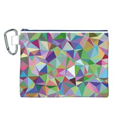 Mosaic Pattern 5 Canvas Cosmetic Bag (l) by tarastyle