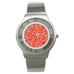 Mosaic Pattern 6 Stainless Steel Watch by tarastyle