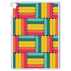 Soft Spheres Pattern Apple Ipad Pro 9 7   White Seamless Case by linceazul