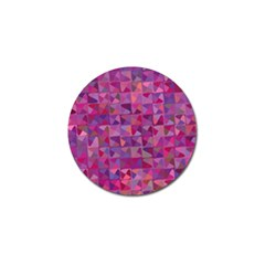 Mosaic Pattern 7 Golf Ball Marker by tarastyle