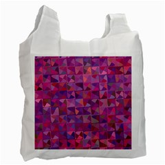 Mosaic Pattern 7 Recycle Bag (one Side) by tarastyle