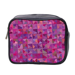 Mosaic Pattern 7 Mini Toiletries Bag 2 Side by tarastyle