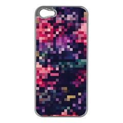 Mosaic Pattern 8 Apple Iphone 5 Case (silver) by tarastyle