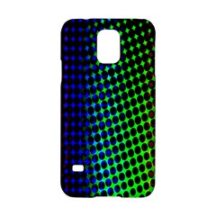Digitally Created Halftone Dots Abstract Background Design Samsung Galaxy S5 Hardshell Case  by Nexatart
