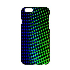 Digitally Created Halftone Dots Abstract Background Design Apple Iphone 6/6s Hardshell Case