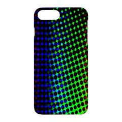 Digitally Created Halftone Dots Abstract Background Design Apple Iphone 7 Plus Hardshell Case