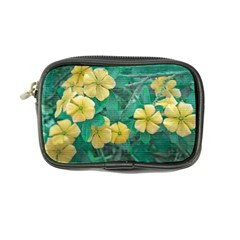 Yellow Flowers At Nature Coin Purse by dflcprints
