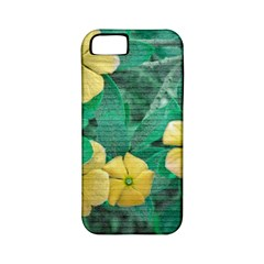 Yellow Flowers At Nature Apple Iphone 5 Classic Hardshell Case (pc+silicone) by dflcprints
