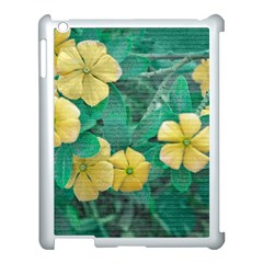 Yellow Flowers At Nature Apple Ipad 3/4 Case (white) by dflcprints