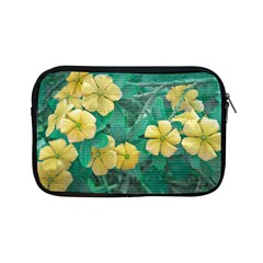 Yellow Flowers At Nature Apple Ipad Mini Zipper Cases by dflcprints