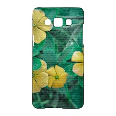 Yellow Flowers At Nature Samsung Galaxy A5 Hardshell Case  by dflcprints