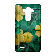 Yellow Flowers At Nature Lg G4 Hardshell Case by dflcprints
