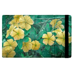 Yellow Flowers At Nature Apple Ipad Pro 9 7   Flip Case by dflcprints