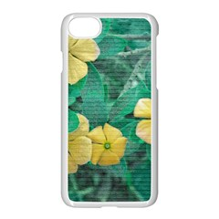 Yellow Flowers At Nature Apple Iphone 7 Seamless Case (white) by dflcprints