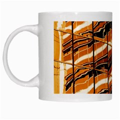 Abstract Architecture Background White Mugs