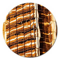 Abstract Architecture Background Magnet 5  (round)
