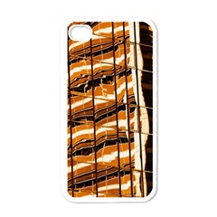 Abstract Architecture Background Apple Iphone 4 Case (white)