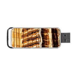 Abstract Architecture Background Portable Usb Flash (two Sides) by Nexatart
