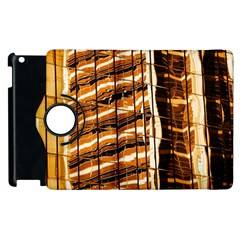 Abstract Architecture Background Apple Ipad 2 Flip 360 Case by Nexatart