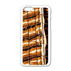 Abstract Architecture Background Apple Iphone 6/6s White Enamel Case